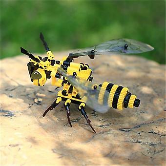 Cultiveren creativiteit gesimuleerde vlinder bouwstenen- Insectenblokken door
