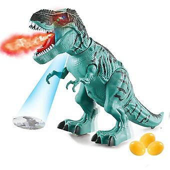 Large Dinosaur- Walking Spray Electric Dinosaur With Voice Mechanical