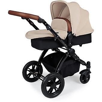 Ickle Bubba Stomp v3 i-Size All In One Travel System Mercury & Isofix Base Black