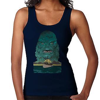 A Criatura da Lagoa Negra Demon Head Boat Women's Vest