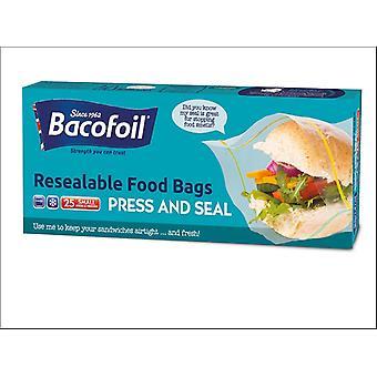 Baco Baco Press N Seal Food Bag x 25 85B45