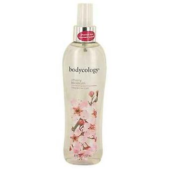 Bodycology Cherry Blossom Cedarwood And Pear By Bodycology Fragrance Mist Spray 8 Oz (women) V728-538301