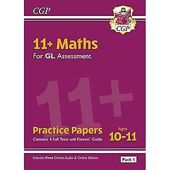 Novos 11 + GL matemática prática papers: idades 10-11-Pack 1 (com os pais ' Guide & Online Edition)
