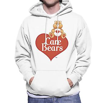 Pflege Bären Logo Tenderheart Bär Männer's Kapuzen Sweatshirt