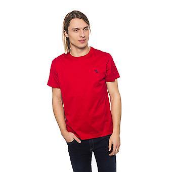 Miljardööri Miesten punainen T-paita