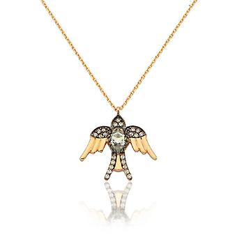 Fugl Guld halskæde