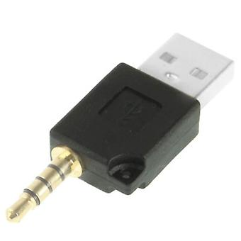 Adaptor usb de andocare, pentru iPod shuffle 3rd / 2nd, Lungime: 4.6cm (Negru)