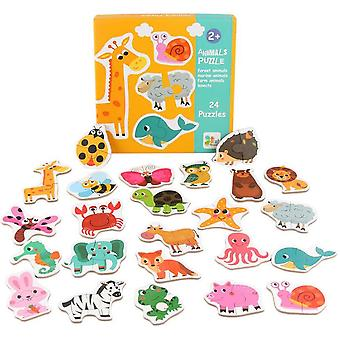 Animals Jigsaw Puzzles,easy Puzzles Educational Learning Toys
