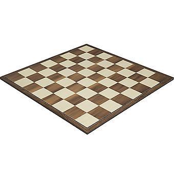 16.75 inch vouwen Walnut schaakbord