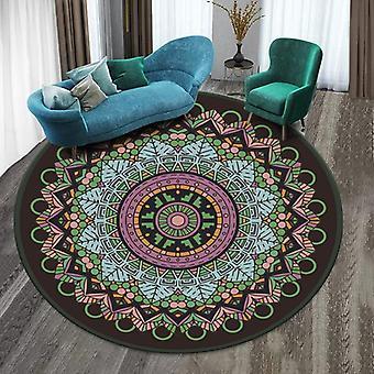 Mandala 3d Tridimensionnelle Stereo Vision Mat Salon Salon Tea Table