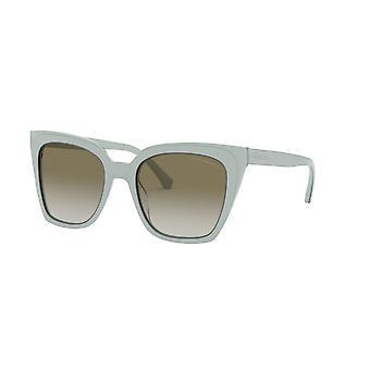 Emporio Armani EA4127 57458E Trilayer Azure Crystal/Green Gradient Sunglasses