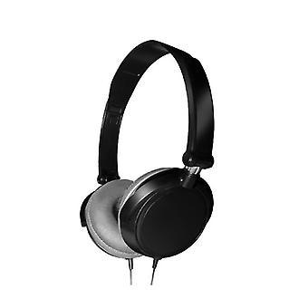 Verdrahtete faltbare On-Ear-Kopfhörer ohne Mikrofon 3,5 mm für Handys Laptop
