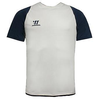Warrior TRG Lyhythihainen Jersey Miesten T-paita Top Valkoinen WSTM253 WIN X39A