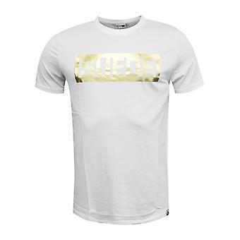 Puma Mokkanahka Tee Miesten Lyhythihainen T-paita Top Valkoinen Kulta 594893 02 X23B