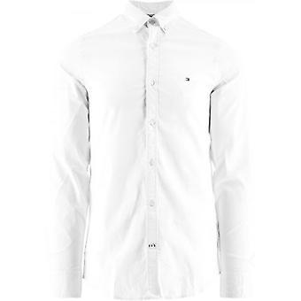 Tommy Hilfiger White Core Stretch Slim Fit Overhemd