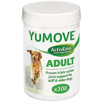 Lintbells yumove dog essential hip and joint supplement for stiff dogs aged 7 to 8, 300 each 300 tab