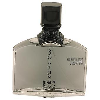 Sultan Black Eau De Toilette Spray (Tester) By Jeanne Arthes 3.3 oz Eau De Toilette Spray