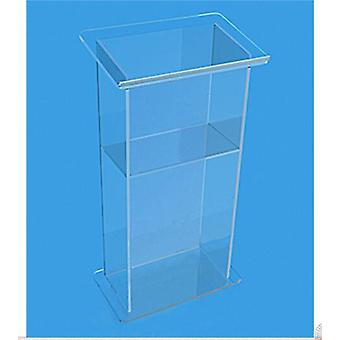 Clear Acrylic Perspex Rostrum Podium Lectern  Decoration Table Furniture