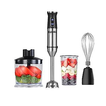 4-in-1 Stainless Steel 1100w Immersion Hand Stick Blender