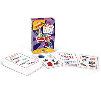 Super Genius Reading 2 Flashcard Gioco