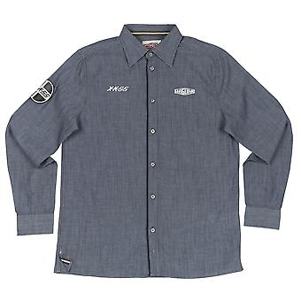 جاكوار Xkss الرجال التراث قميص شامبري