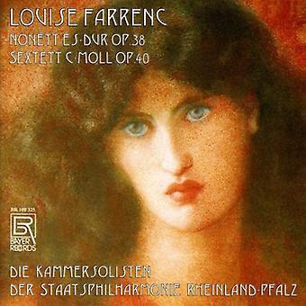Farrenc / Chamber Soloists Rheinland-Pfalz Phil - Nonet in E Flat Op 38 / Sextet in C Minor Op 40 [CD] USA import