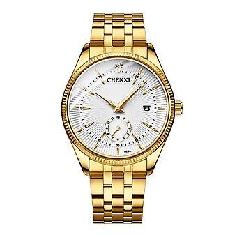 Gold Wrist Watch Men Watches Lady Top Brand Luxury Quartz Wristwatch