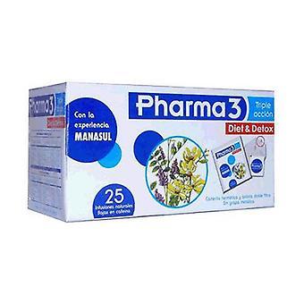 Pharma 3 Diet & Detox 25 packets