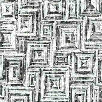 Geo Square Grey Wallpaper