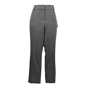Kirkland Signature Women's Pants Ankle Length CLassic Fit Trouser Gray