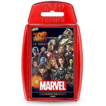 Marvel Cinematic Universe Top Trumps Card Game