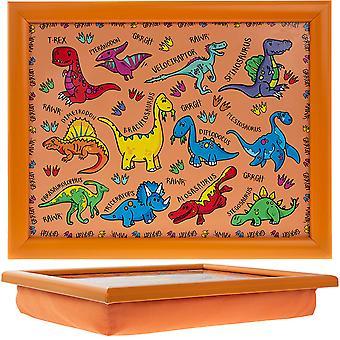 Dinossauros da almofada de colo infantil