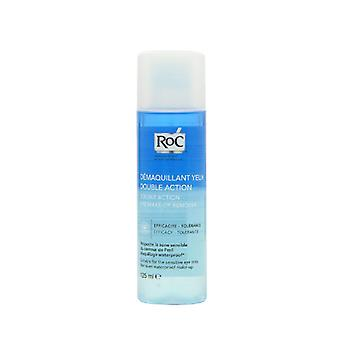 4 x RoC Double Action Eye Makeup Remover 125ml