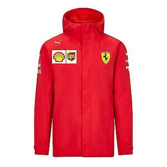 Vuoden 2021 Ferrari-tallin takki (punainen)