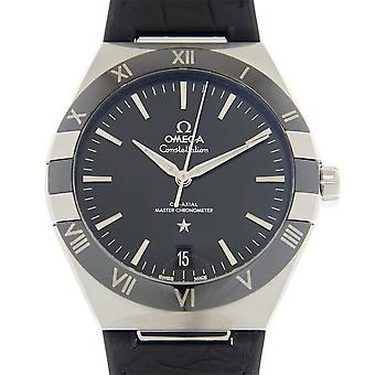 Omega Constellation Automatic Chronometer Black Dial Men's Watch 131.33.41.21.01.001