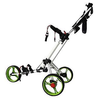 Chariot professionnel de golf de trois roues, chariot de sac, outil extérieur de sports