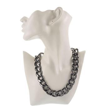 Klassische Gourmet-Kette - Metall Halskette - Modeschmuck
