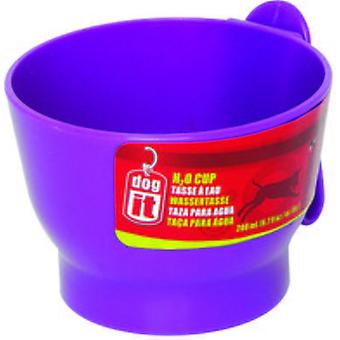 Hagen DOGIT H2O TAZA ROSCABLE 200ml PURPURA (Dogs , Bowls, Feeders & Water Dispensers)
