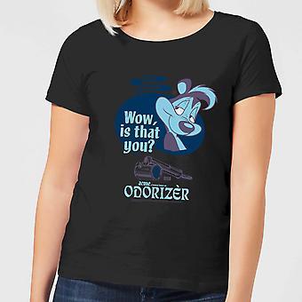 Looney Tunes ACME Odorizer Merch Womens Short Sleeve T-Shirt Tee Top - Black