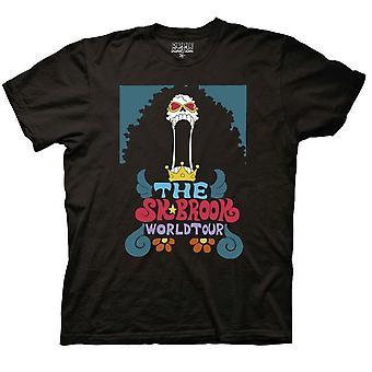 Camiseta de tripulación de One Piece Soul King Brook World Tour