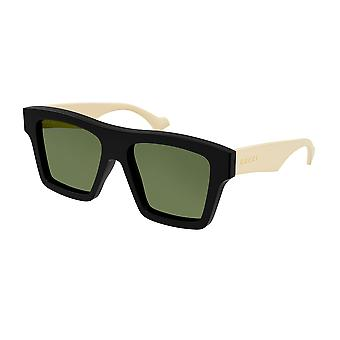 Gucci GG0962S 001 Black/Green Sunglasses