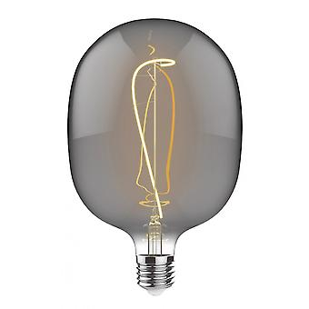 Classic Style Led Type M E27 Dimmable 220-240v 4w 2100k, 120lm, Smoke Finish