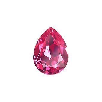 Kryształ Swarovskiego, #4320 Gruszka Fancy Stone 14x10mm, 1 sztuka, Róża F