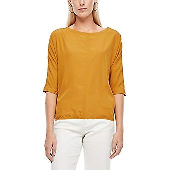 s.Oliver 120.10.009.12.130.2060550 T-Shirt, Yellow, 38 Woman
