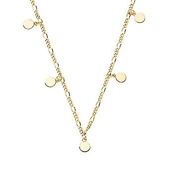 NOELANI Women's pendant necklace, sterling silver 925, coin(2)