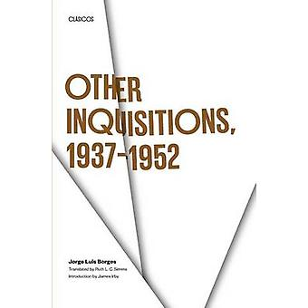 Other Inquisitions 19371952 by Jorge Luis Borges