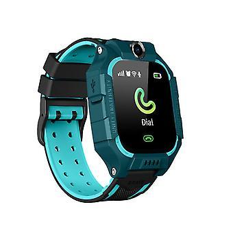 Relógio kids smart com cartão SIM Impermeável Kids Smartwatch Dual Smart Watches (azul)