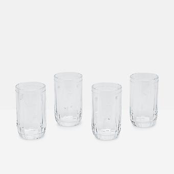 Joules Bijen Set van 4 Hiball Glazen