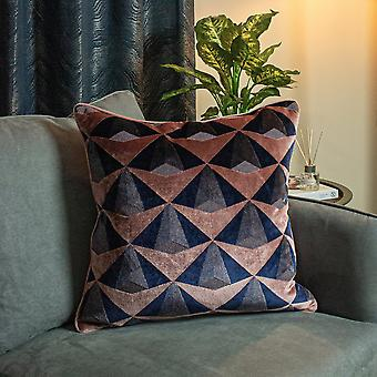 Paoletti Leveque Jacquard Velvet Cushion Cover