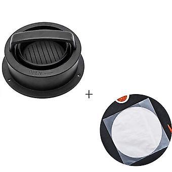 Round Press Plastic Hamburger Maker